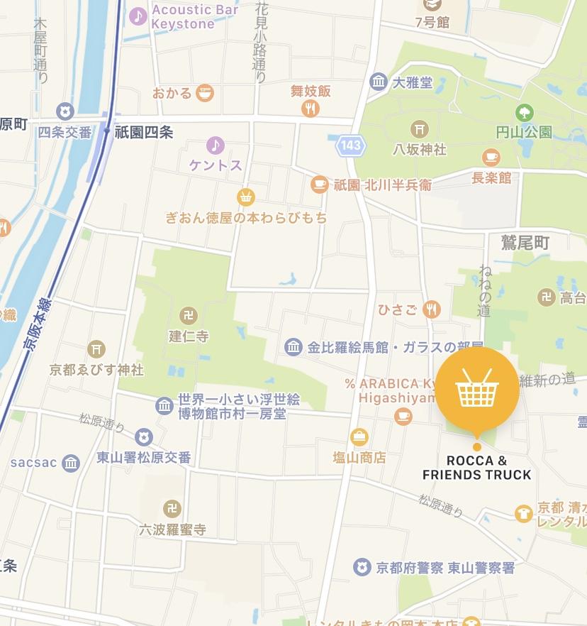 「TRUCK」の地図