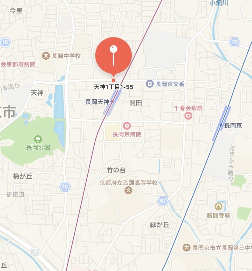 「乃が美」長岡天神駅前販売店