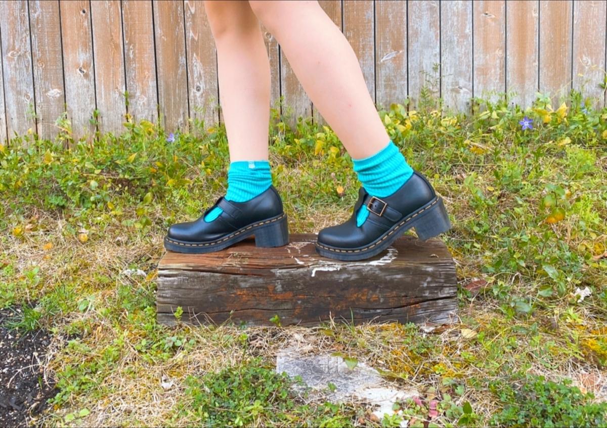 エメラルド色の靴下
