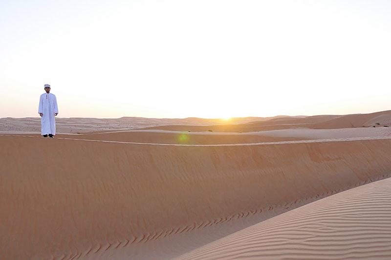 砂漠は綺麗!