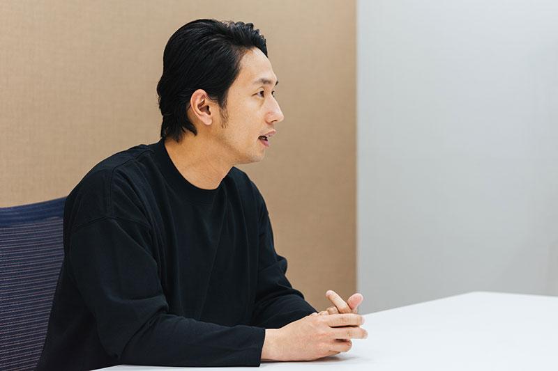 フリー素材の可能性について語る大川さん