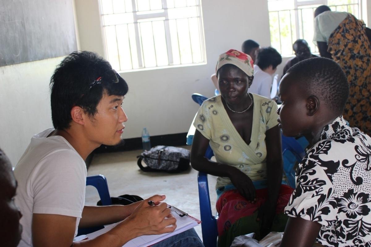 南スーダン難民の支援に携わる筆者