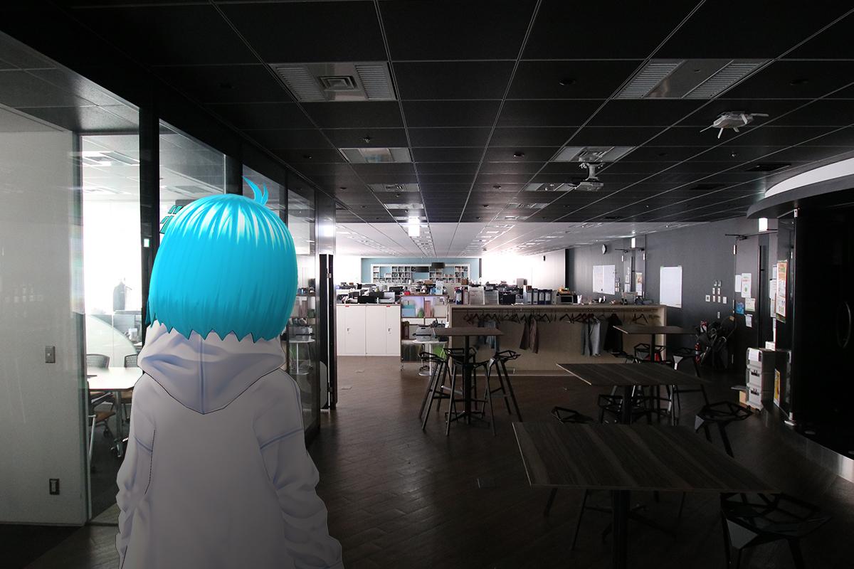 会社に誰も居ない・・・