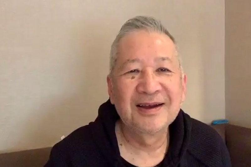 木村和司、初のオンライン取材