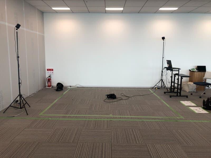 撮影スペース