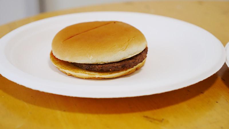 ハンバーガーですね!