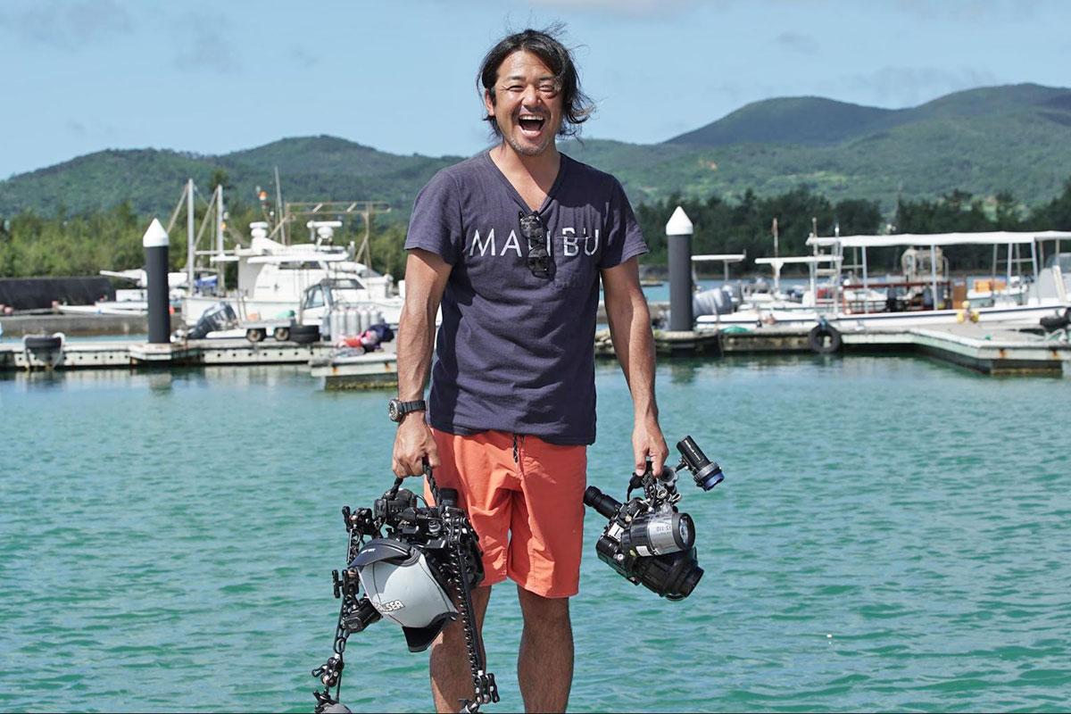水中写真家 鍵井 靖章さん
