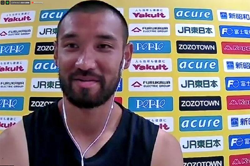 川又堅碁選手にインタビュー