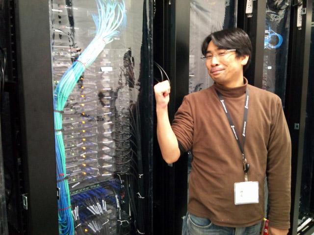 オープン前の石狩データセンターと松本