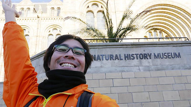 ロンドン自然史博物館に行きました!