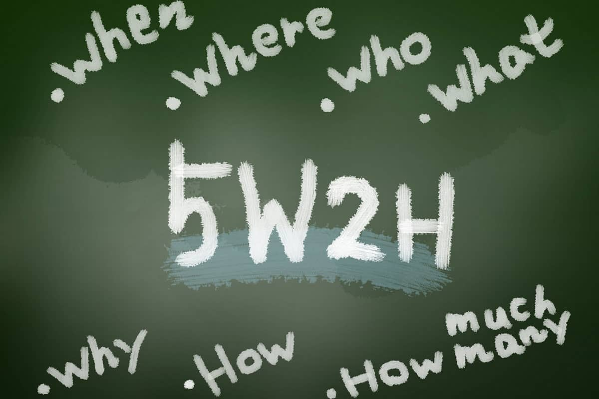 5W2Hとの違い