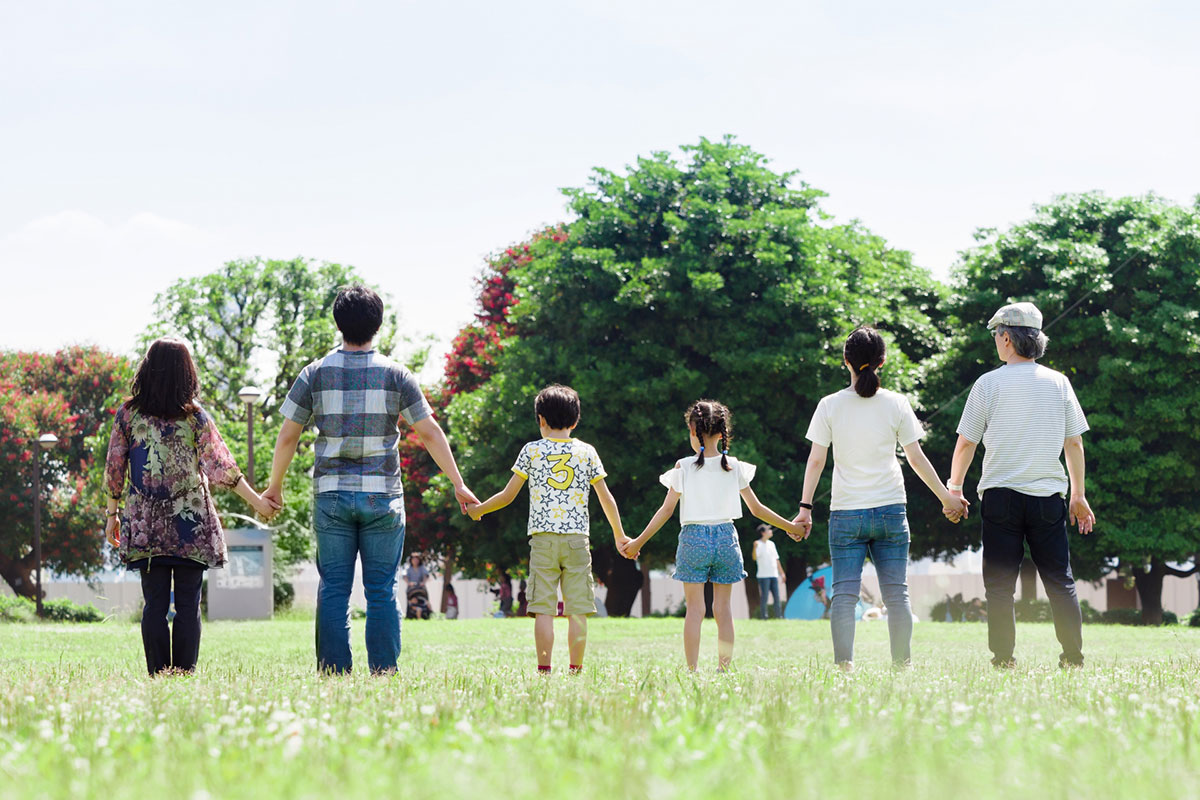病気を一緒に乗り越えれば、家族との絆が深まる