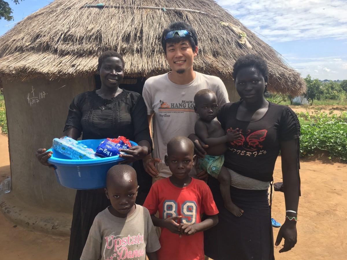 アフリカで難民支援活動に関わっていた時