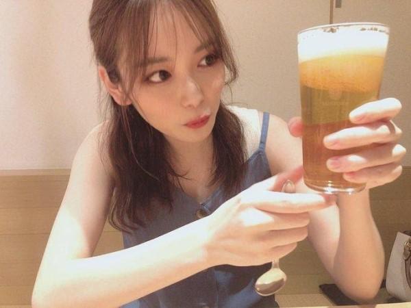 ↑とある企画でいただいたビールかき氷。
