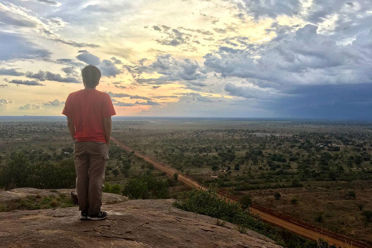 原貫太の活動地、ウガンダの絶景