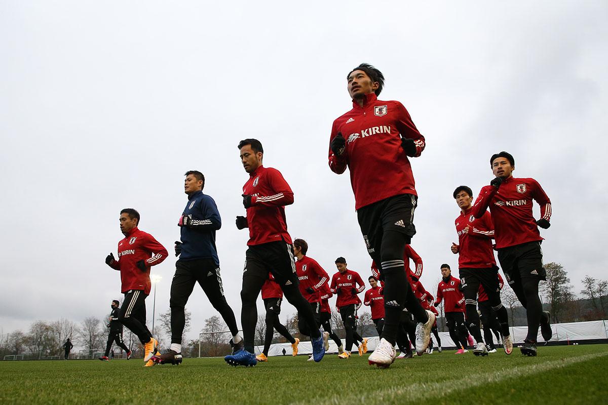 練習風景(写真提供:日本サッカー協会)