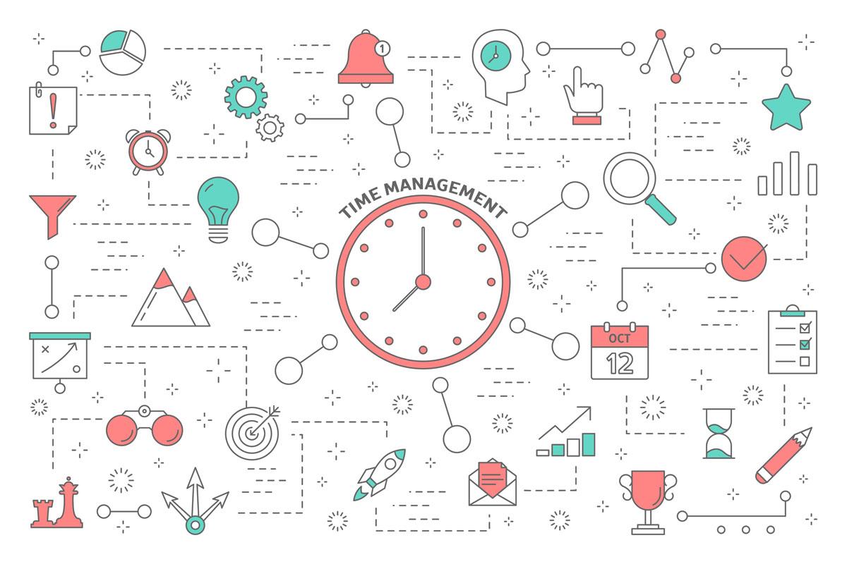 タイムマネジメントとは? その意味や具体的な方法、コツを紹介!