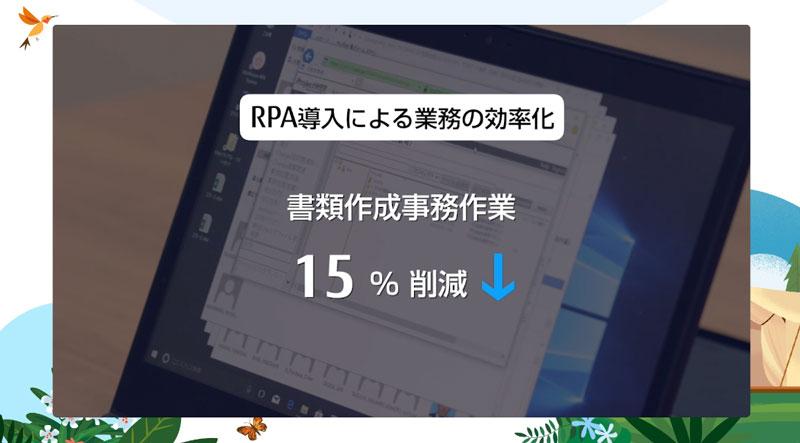 RPA導入による業務の効率化