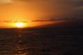 夕日を写しました