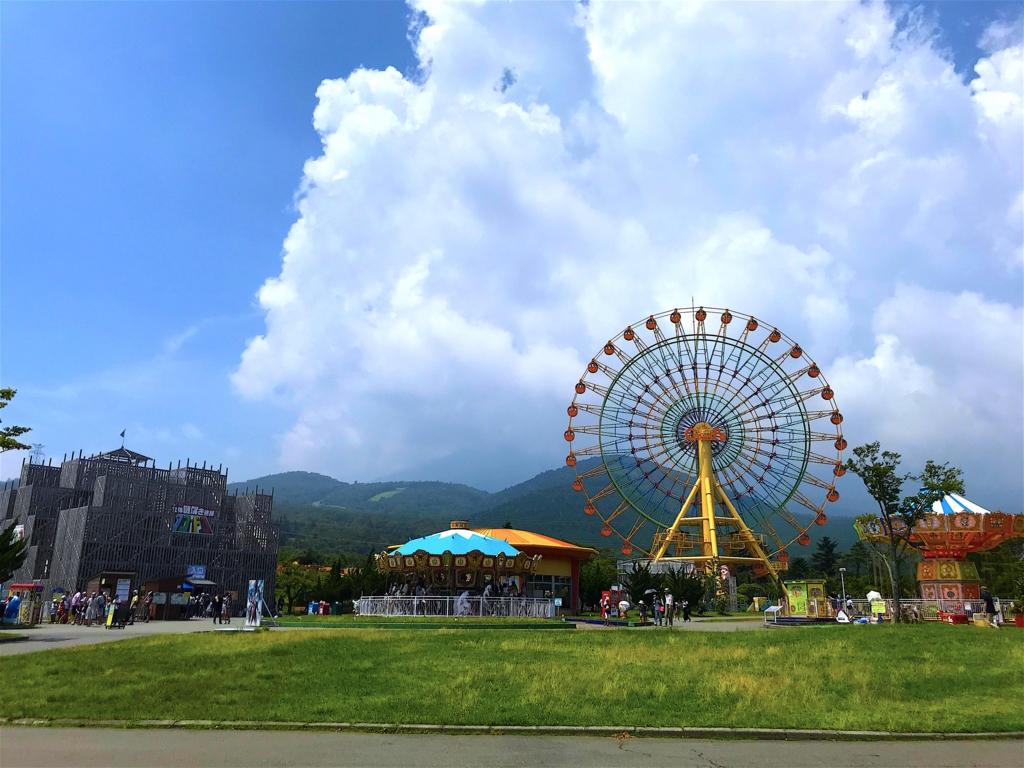 ぐりんぱこども遊園地富士山2合目