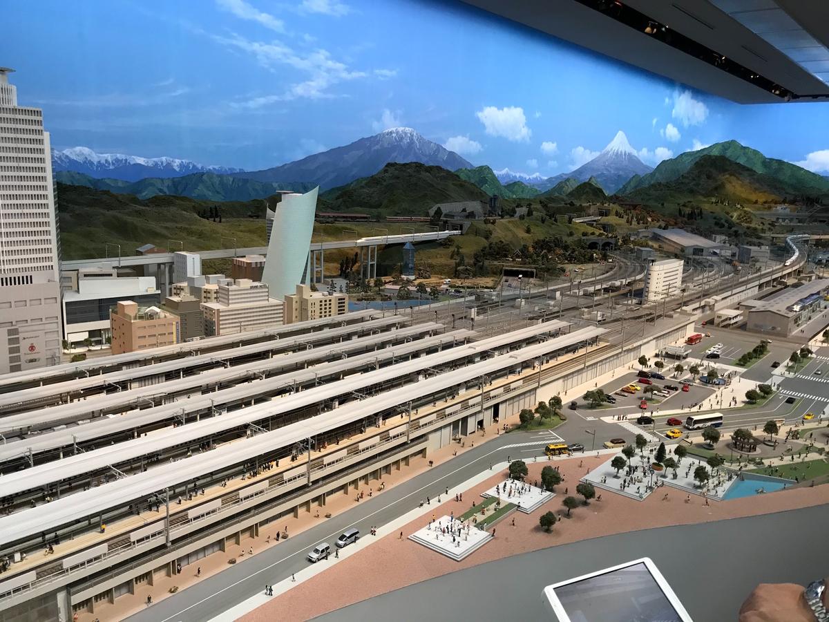 リニア・鉄道館 ジオラマ
