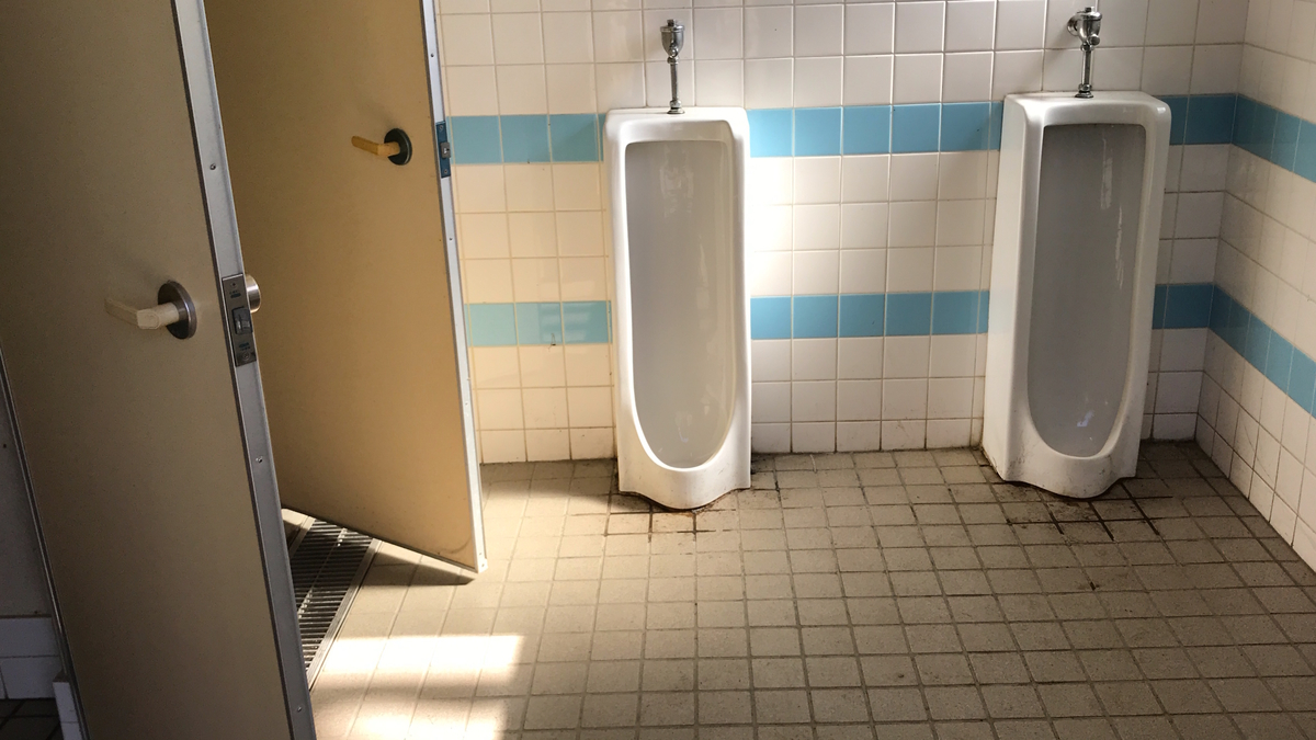 武甲キャンプ場トイレ