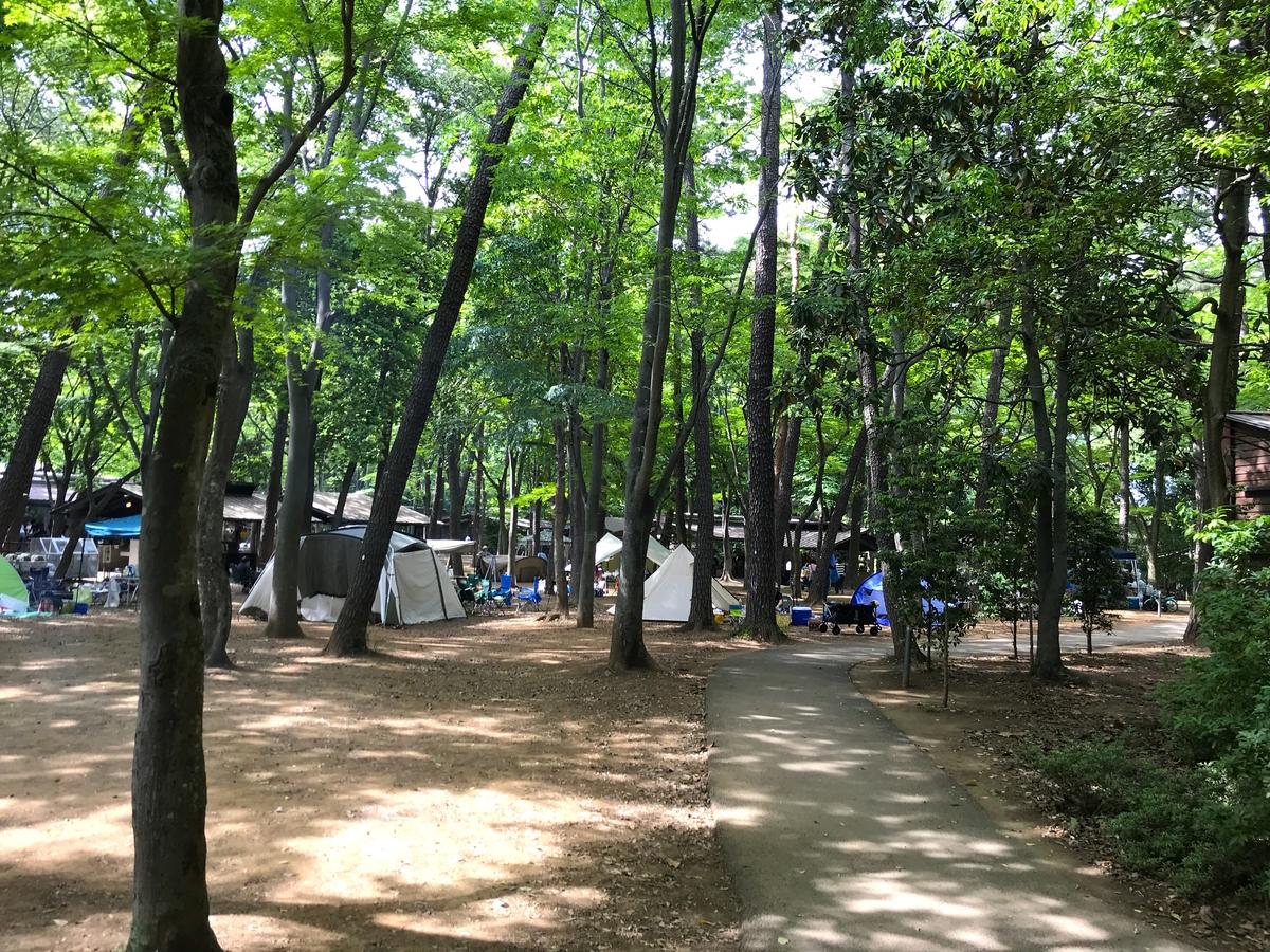 清水公園キャンプ場デイキャンプ