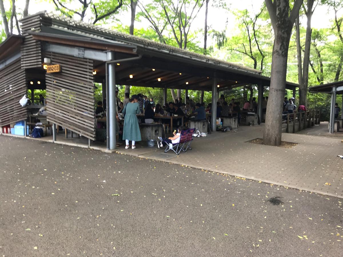 清水公園キャンプ場バーベキュー