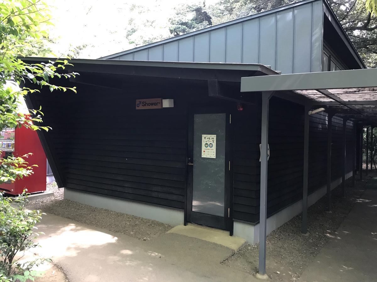 清水公園キャンプ場シャワー
