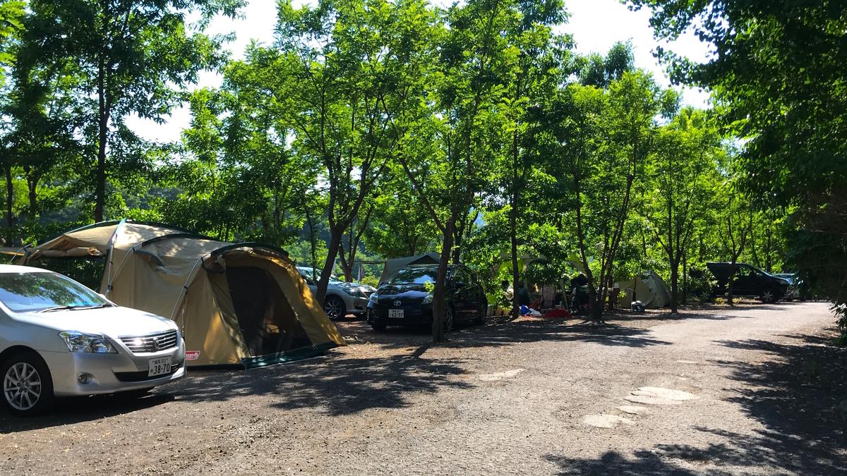ウォーターパーク長瀞キャンプ場オートキャンプ