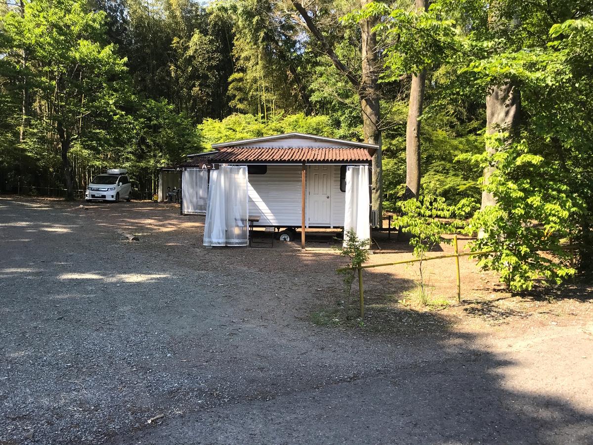 ウォーターパーク長瀞キャンプ場コテージ