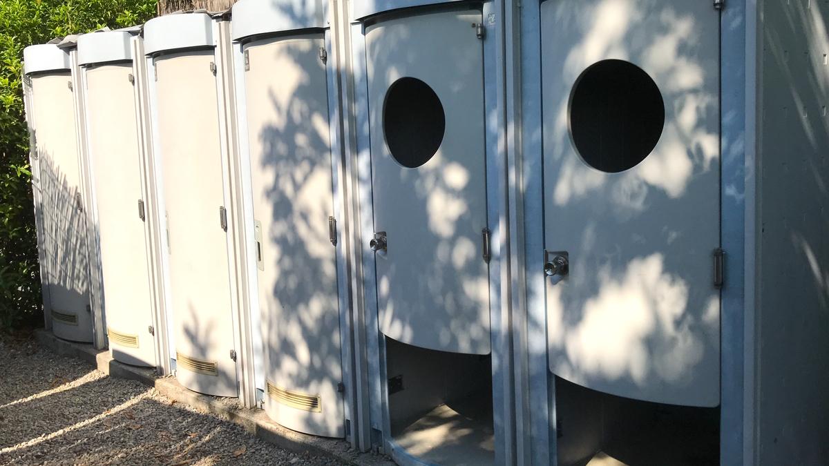 ウォーターパーク長瀞キャンプ場トイレ