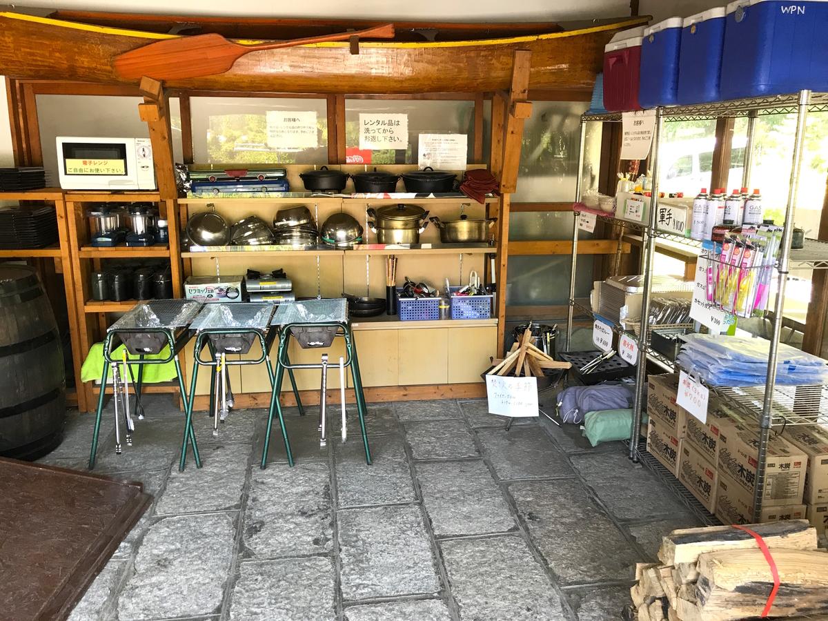 ウォーターパーク長瀞キャンプ場レンタル