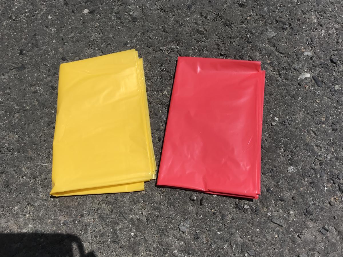 ウォーターパーク長瀞キャンプ場ゴミ袋
