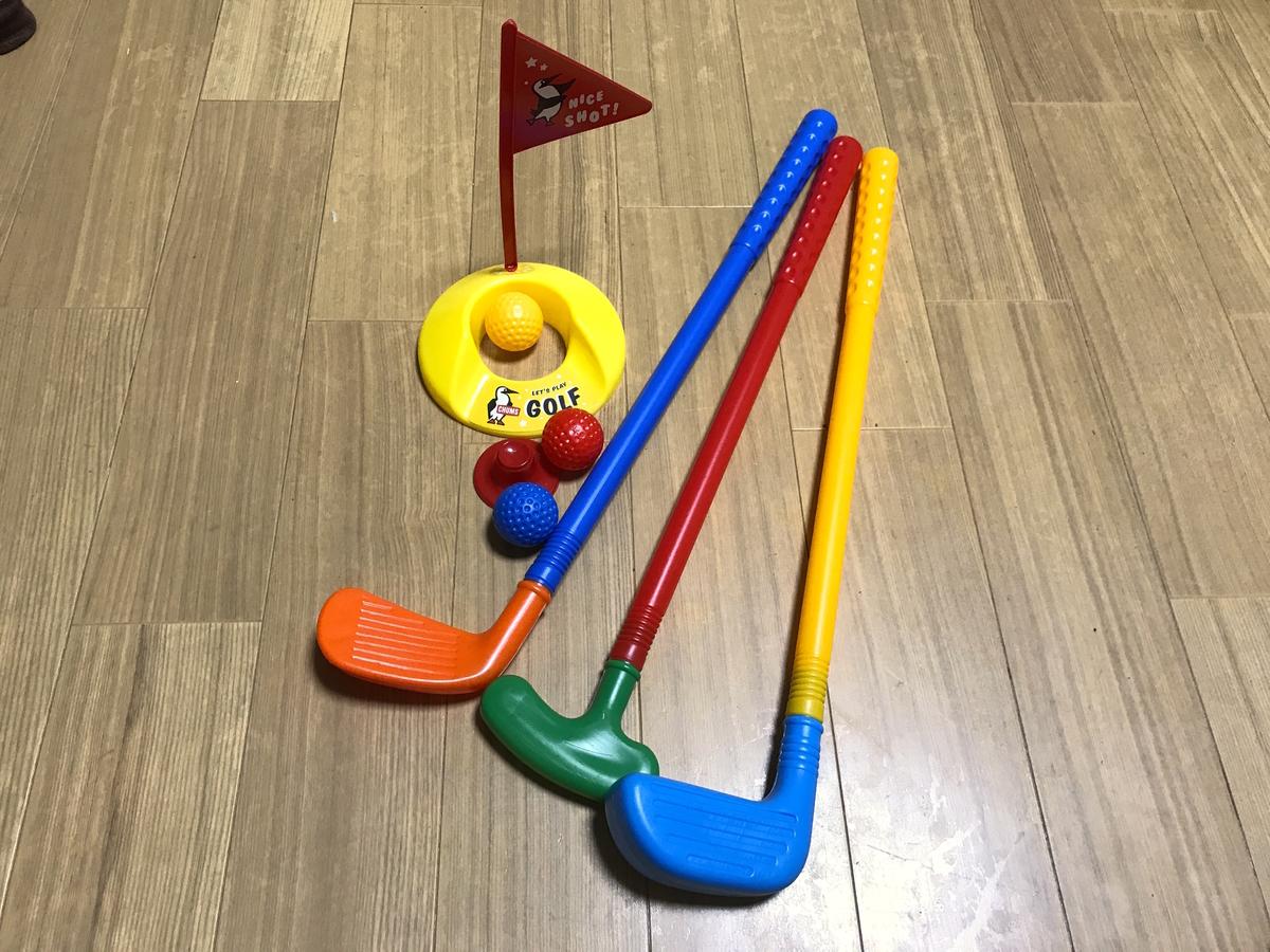 CHUMS(チャムス)ゲームセットゴルフセット
