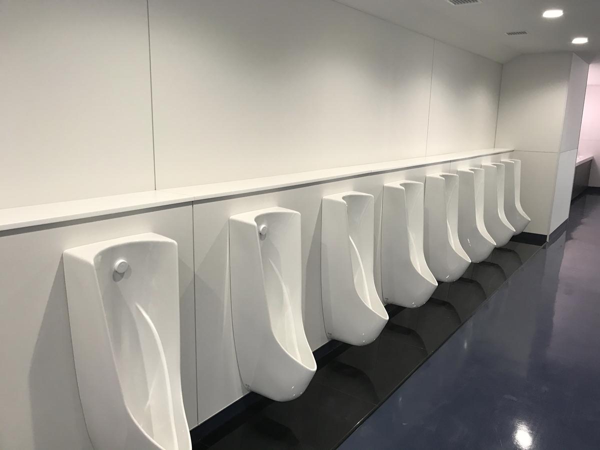 ラグビーW杯熊谷トイレ