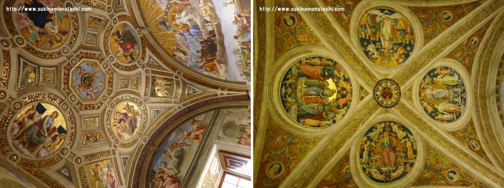 ヴァチカン美術館 天井その2