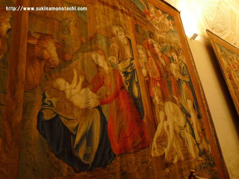 ヴァチカン美術館 タペストリー