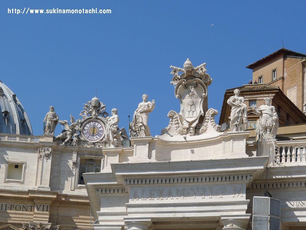 サン・ピエトロ大聖堂 石像