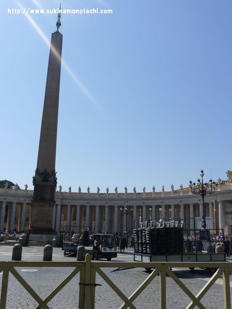 サン・ピエトロ大聖堂 オベリスク