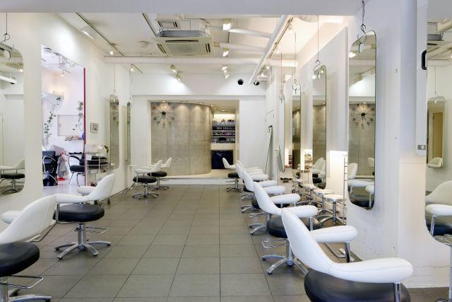 美容院、白髪、白髪染め