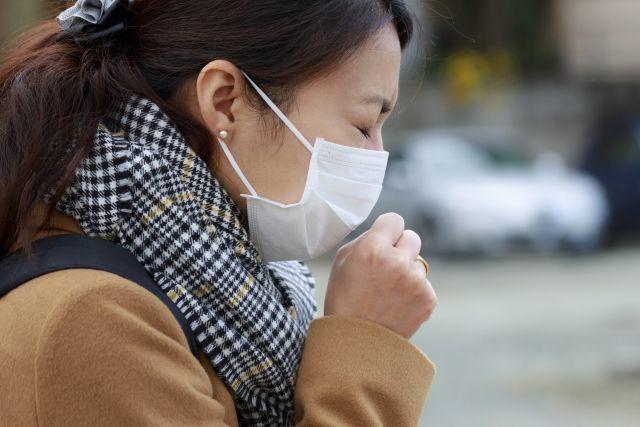 咳、インフルエンザ、風邪、家庭内感染