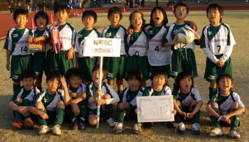 11/23多摩川流域少年サッカー大会優勝(2年生)