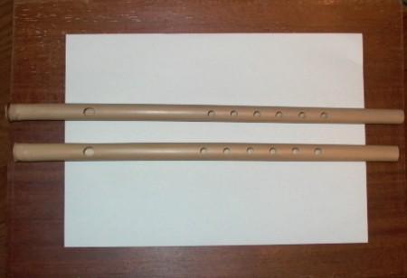 篠笛 作り初めの画像
