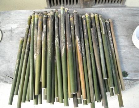 篠笛を作るー迫川の女竹の画像