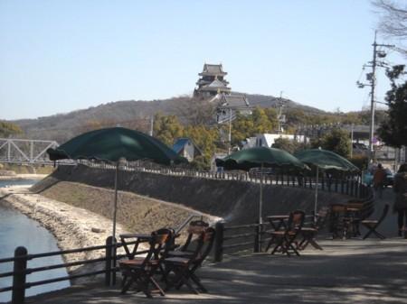 後楽園界隈 景観ポイント 石山公園←市の許可で・・・の画像