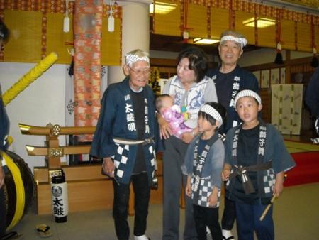 岡山神社秋祭りの画像