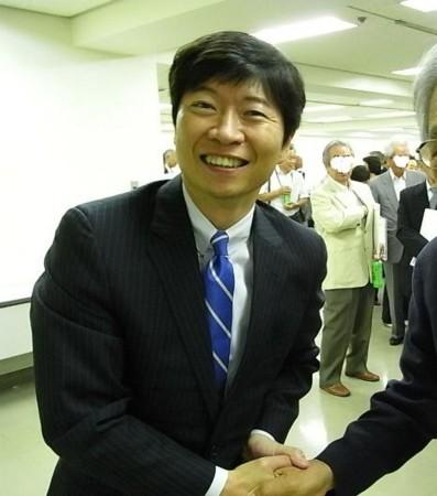 伊原木隆太さん 岡山県知事立候補表明の画像