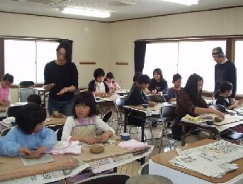 やきもの教室の画像
