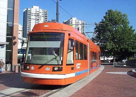 Free Rail Zone ポートランドの路面電車ー中心街の画像